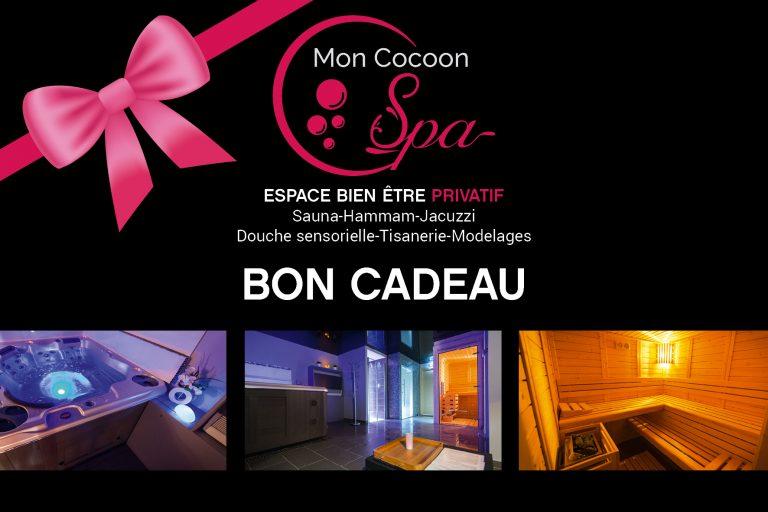 Bon cadeau Mon Cocoon Spa